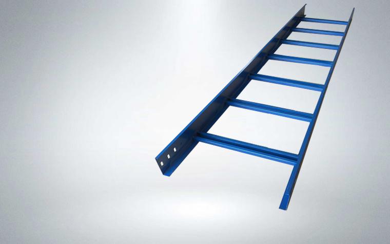 噴塑梯式電纜橋架